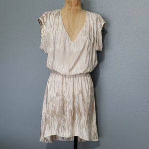 EXPRESS party vacation high-low flattering dress